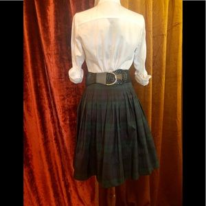 Talbots Skirts - TALBOTS TAFFETA TARTAN HIGH WAISTED SKIRT    SZ 6
